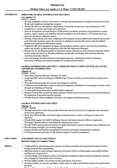 Resume Information by Information Security Resume All Resume Simple