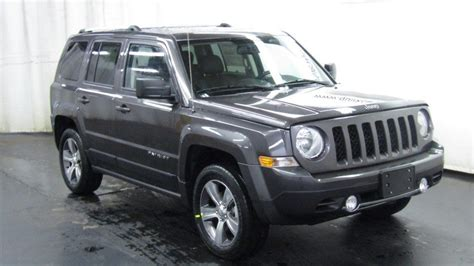 Jeep Patriot High Altitude New 2017 Jeep Patriot High Altitude Sport Utility In