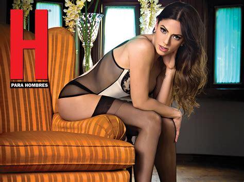 maria jose suarez en revista h mar 237 a jos 233 su 225 rez enciende pasiones en la revista h para