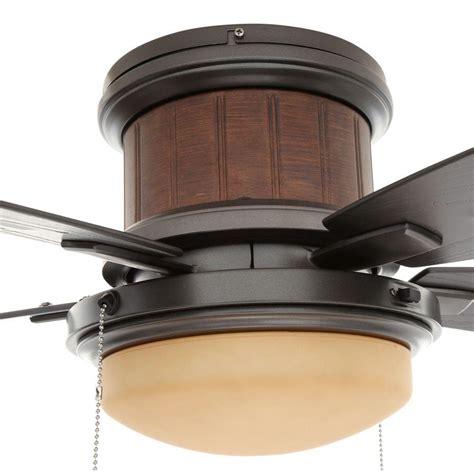 flush mount ceiling fan hugger  profile stylish led