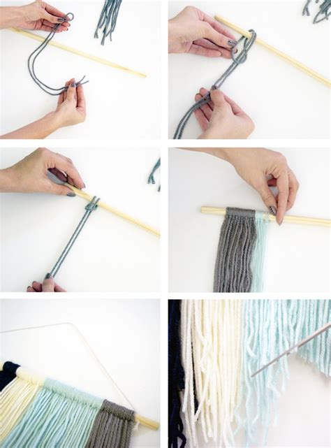 Wall Hanging Tutorial - diy yarn wall hanging tutorial phan bloglovin