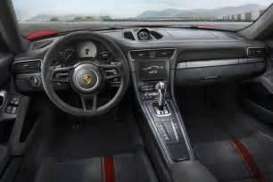 Porsche Gt3 Interior by 2018 Porsche 911 Gt3 Unveiled With 500hp 4 0l