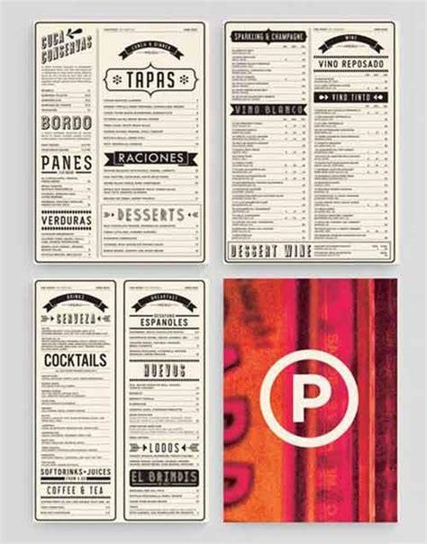 restaurant menu layout inspiration restaurant menu design 33 creative exles for inspiration