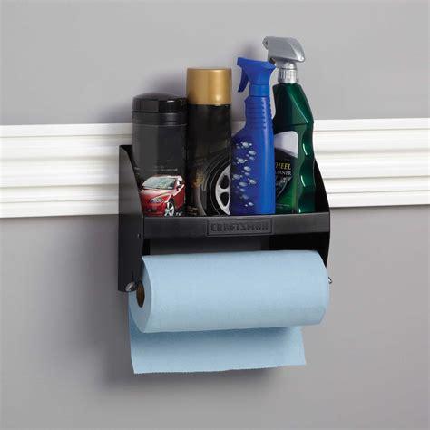 craftsman hooktite paper towel holder  versatrack