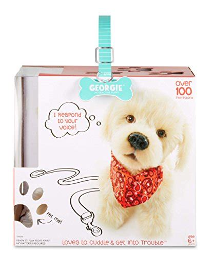 georgie interactive puppy georgie interactive plush electronic puppy