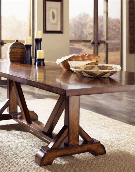 Rectangular Dining Room Table 17 elegant classic trestle tables