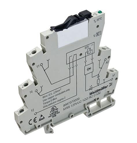Relay Weidmuller weidmuller s microseries relays