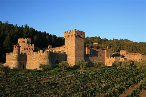 Monticello Dining Room by Tuscan Vines 2004 Castello Di Amorosa La Castellana