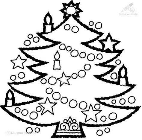 ausmalbild ausmalbild weihnachtsbaum 24