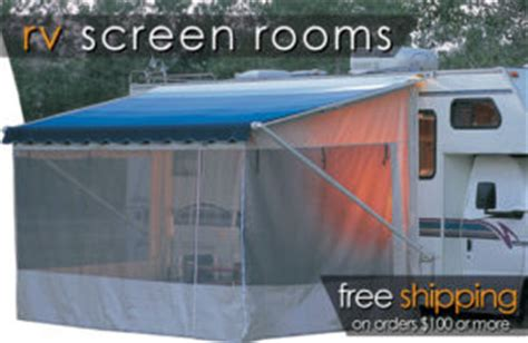 travel trailer awning screen room rv screen rooms add a patio room enclosure shop
