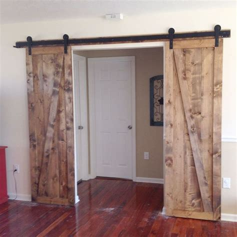 Diy Sliding Barn Door Plans Sliding Barn Doors The Sequel Hometalk