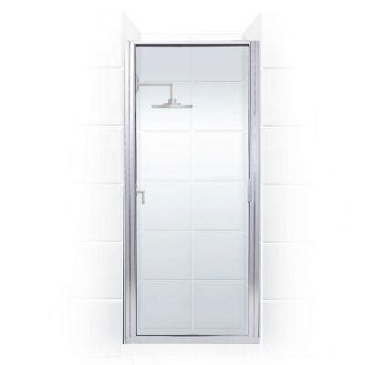 coastal shower doors paragon series 26 in x 74 in framed