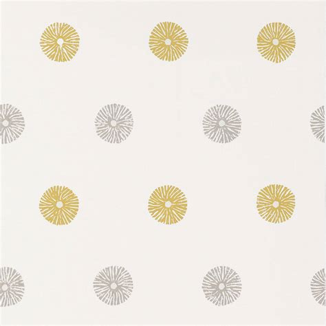 grey ochre wallpaper zinnia wallpaper ochre grey neutral 110013 harlequin