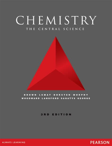 Essay About Chemistry As A Central Science by Chemistry The Central Science 3rd Brown Theodore L Et Al Buy At Pearson
