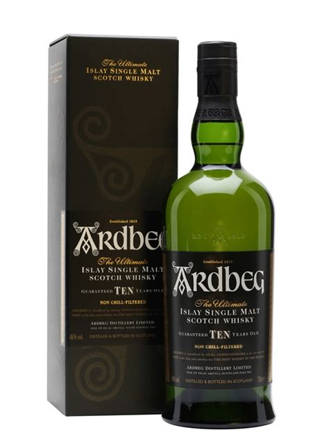 Corporate Gift Singapore ardbeg 10 year old scotch whisky the whisky exchange