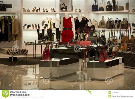 Purse Store luxury handbag purse store editorial stock photo image