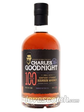 Scotch By Loving Shop charles goodnight 100 proof buy lovescotch