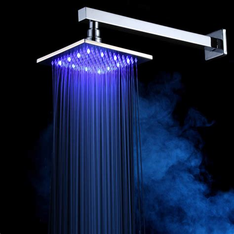 Shower Power Without by Square Shower Beautiful 3 Color Led Shower