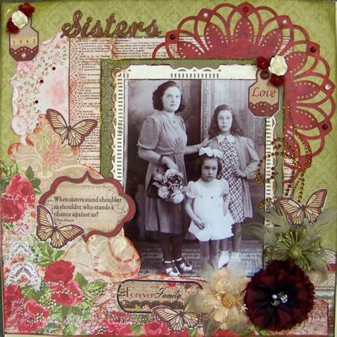 scrapbook layout vintage 218 best images about vintage scrapbooking layouts on