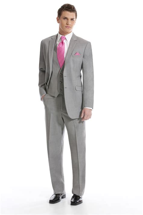 color tuxedo pink and grey prom suits hardon clothes