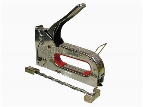 Stapler Gun 4 8mm heavy duty operated staple gun 4 8mm staples st002 ebay
