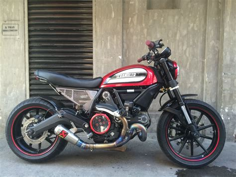 Motorrad Cover Ducati by Complete The Look With Custom Seat And Side Covers For