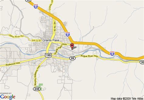 the map grants pass oregon map of inn express grants pass grants pass
