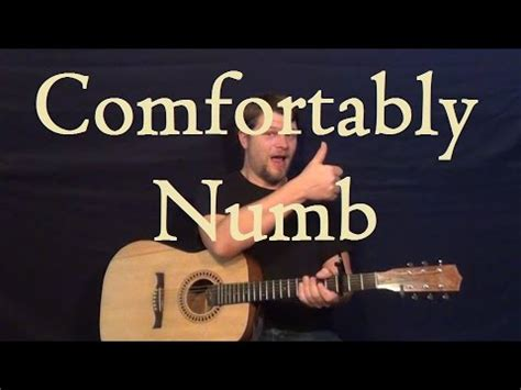 comfortably numb tutorial comfortably numb chords pink floyd 1of4 songs guitar