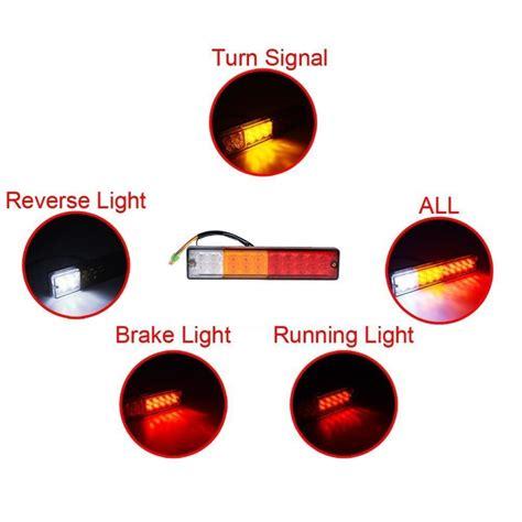 Trailer Running Lights Not Working But Brake Lights Do by 20led Car Trailer Running Brake Turn Lights Waterproof Atv
