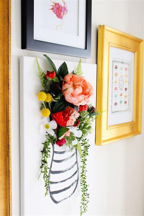 Diy Painting 1 diy 3 d flower canvas part 1 val living