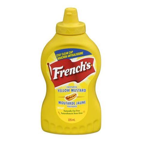 french s prepared yellow squeezable mustard walmart ca