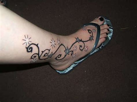 star tattoo designs on leg 125 gorgeous girly foot tattoos and designs