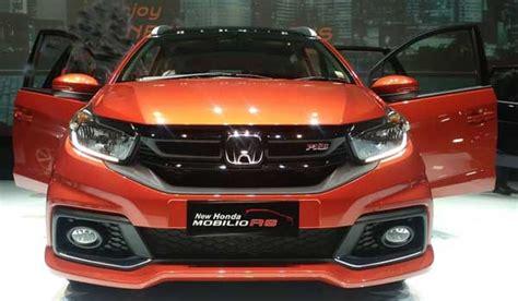 Garnish Depan Honda Brv Carbon Terbaru spesifikasi lengkap dan fitur honda mobilio rs 2017 terbaru harga honda