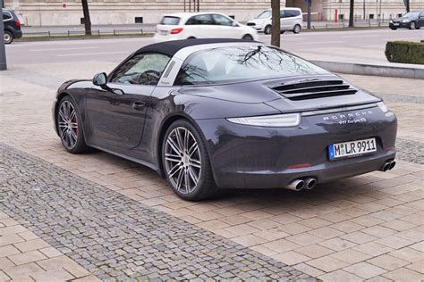 Rent A Porsche by Rent A Porsche Targa 4 S In Our Car Rental In Munich