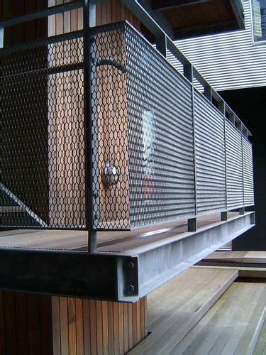 expanded metal balcony railings security balcony