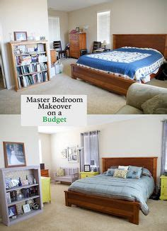 how to redo a bedroom on a budget 1000 images about makeover for the house on pinterest bedroom makeovers bedroom