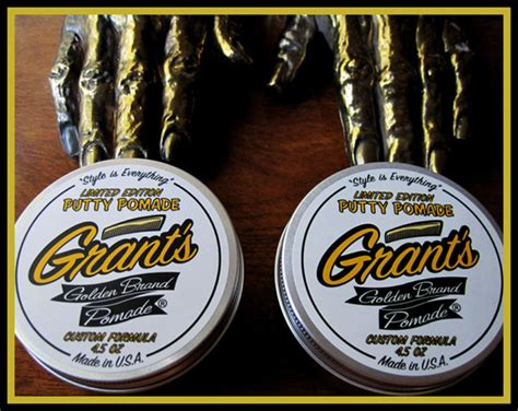 Pomade Banditos Original Usa Limited available now putty x 2 grant s golden brand water