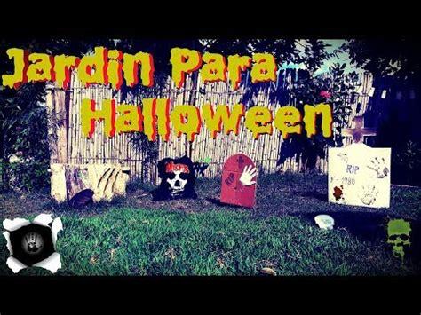 decorar jardin para halloween ideas para decorar un jardin para halloween youtube