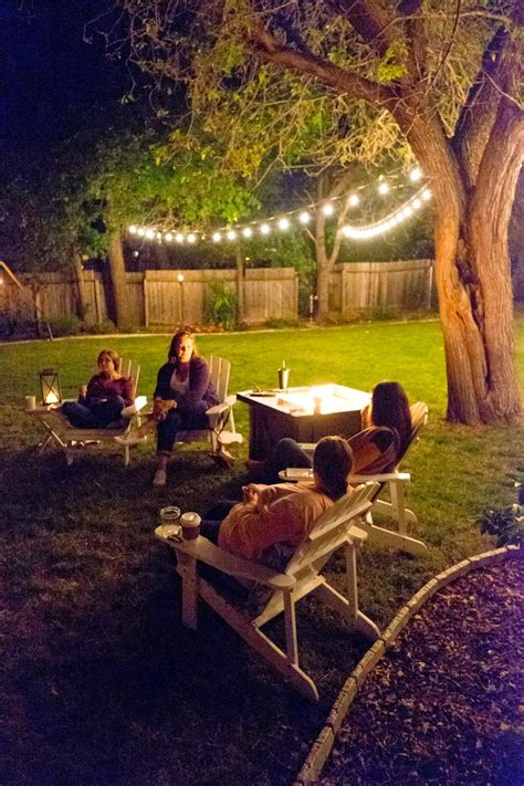 domestic fashionista girls night  backyard game night