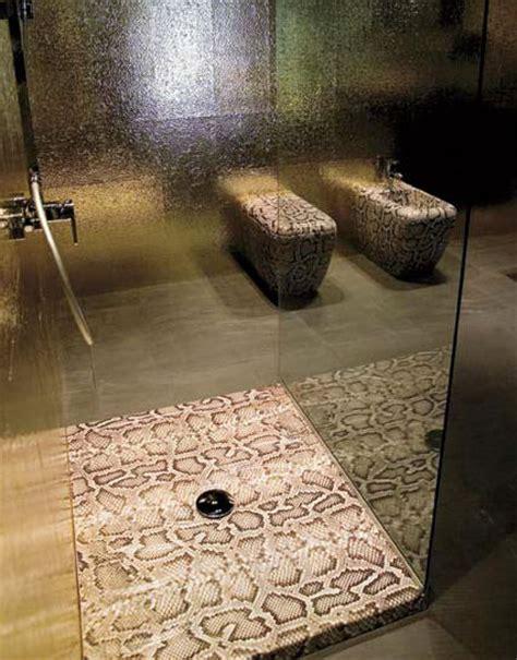 Shower Snake by Snake Skin Crocodile Skin Bathroom Decor From Ceramica Cielo All New Jungle Bathroom