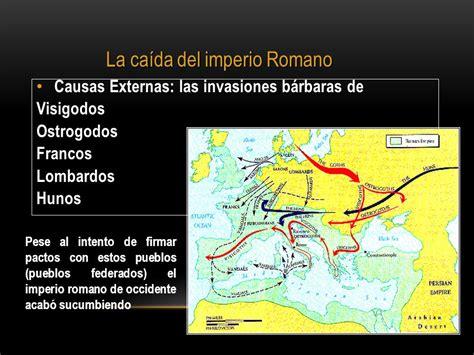 caida del imperio romano de occidente historia y ca 205 da del imperio romano ppt video online descargar