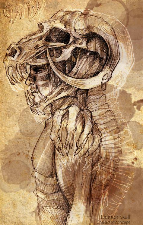 skull by liuanqi on deviantart