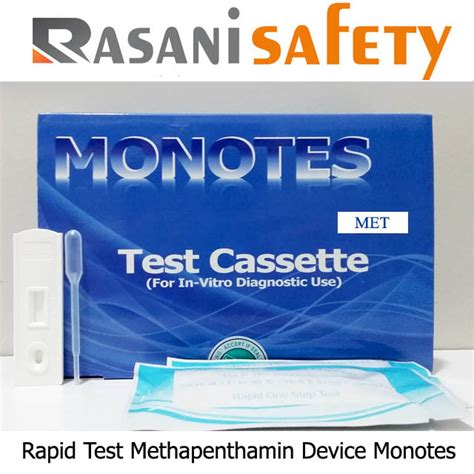 Alat Tes Urine 6p Monotes rapid test methapenthamin device monotes murah jual rapid