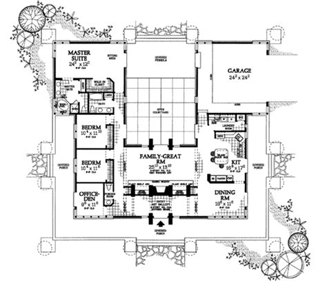 prairie style house plan 3 beds 2 5 baths 2626 sq ft