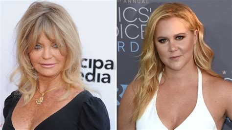 goldie hawn mother why goldie hawn joined amy schumer in a mother daughter