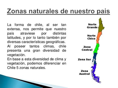 imagenes de las zonas naturales de chile clase 2 zonas naturales
