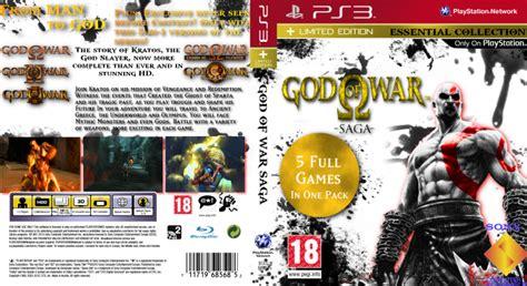 Ps3 God Of War Saga god of war saga playstation 3 box cover by white hollow
