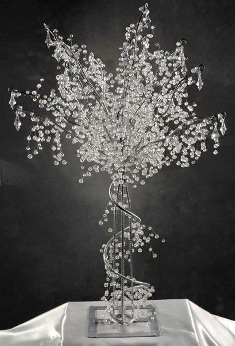Crystal Centerpiece Wedding Trees 3 Feet