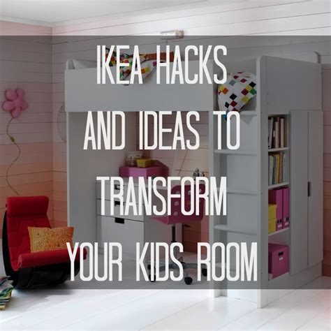 room hacks ikea hacks and ideas to transform your kids room ikea