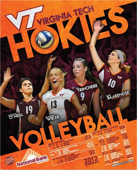 design volleyball poster 21 best images about vt sports posters on pinterest